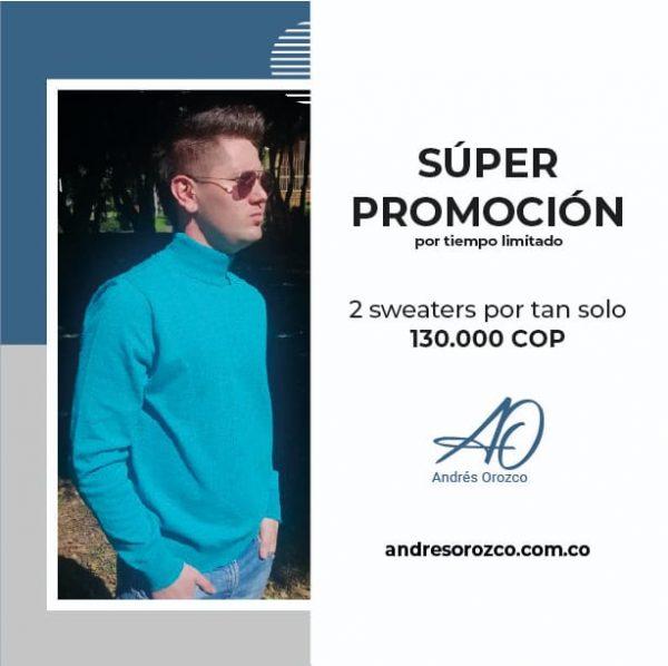 Andres Orozco - Diseño de ropa a la medida para hombre y mujer - Promoción Sacos sept